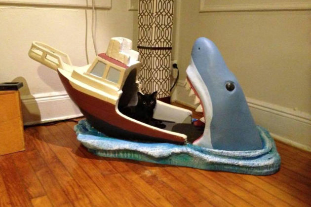 Jaws-inspired Baby Cot by Joseph Reginella