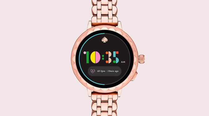 Kate Spade NY's New Smartwatch: Same Look But With Cool New Features