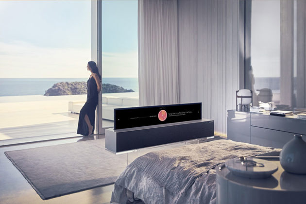 LG Signature 65R9 OLED TV R