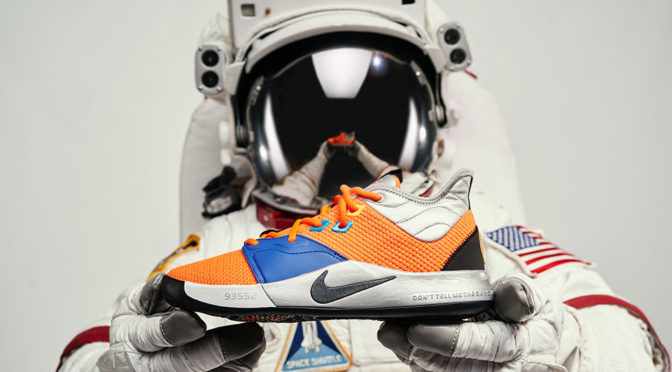 Limited Edition Nike PG NASA Shoes