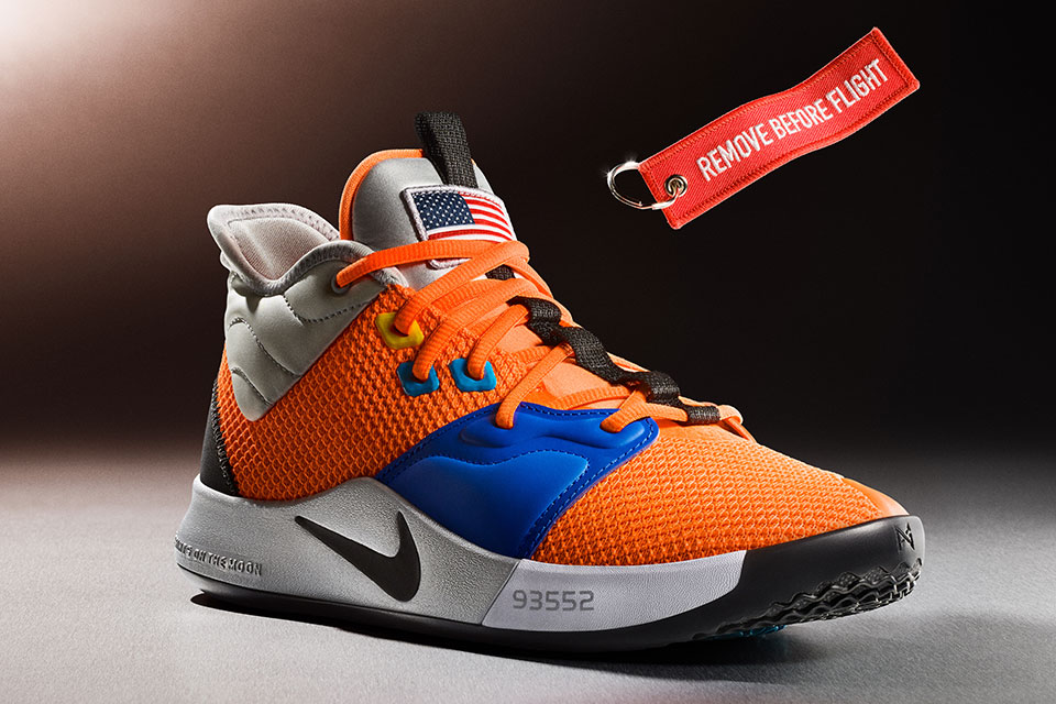 Risultato giocare Meridionale  Here's Paul George's 3rd Nike Shoe In NASA-inspired Colorway   SHOUTS