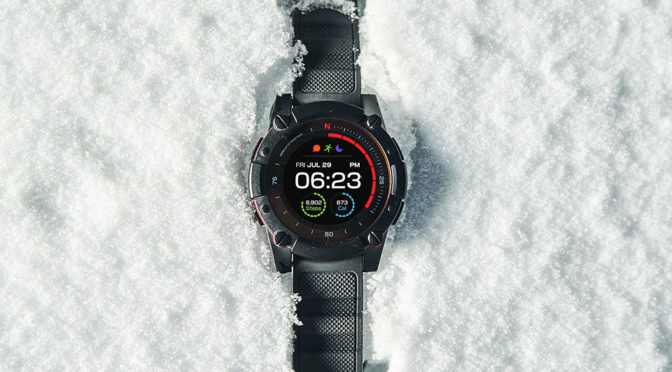 New Body Heat-Powered Smartwatch Now Gets Solar Cell Power Too