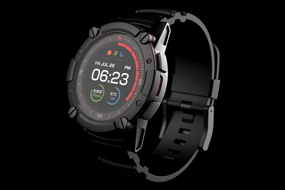 Matrix PowerWatch 2 Body Heat-powered Smartwatch