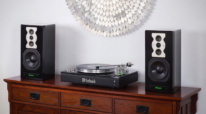 McIntosh Unveils New High-end Turntable, Has Integrated Bluetooth