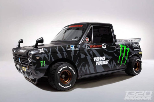 Mini Hoonigan Truck GSX-R Swap Alex Saint