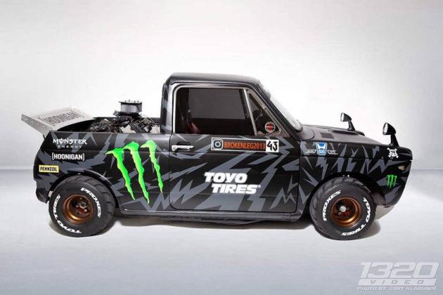 Mini Hoonigan Truck GSX-R Swap Alex Saint