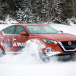 Nissan Brought An Altima With Tracks To Montreal Auto Show