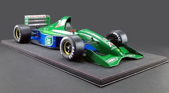 No.32 Jordan 191 Formula 1 Car Scale Model