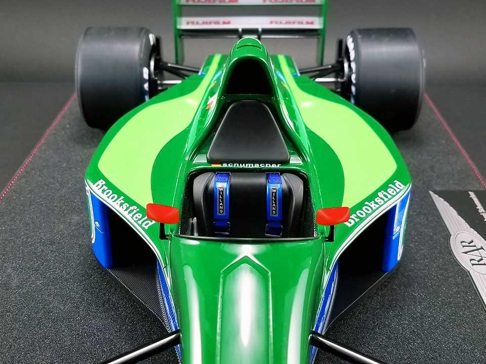No.32 Jordan 191 Formula 1 Car Scale Model
