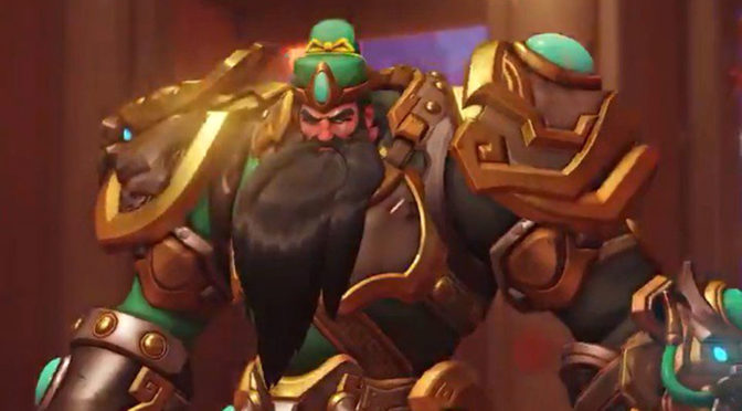 <em>Overwatch</em> Reinhardt Is Getting Chinese Medieval Hero, Guan Yu, Skin