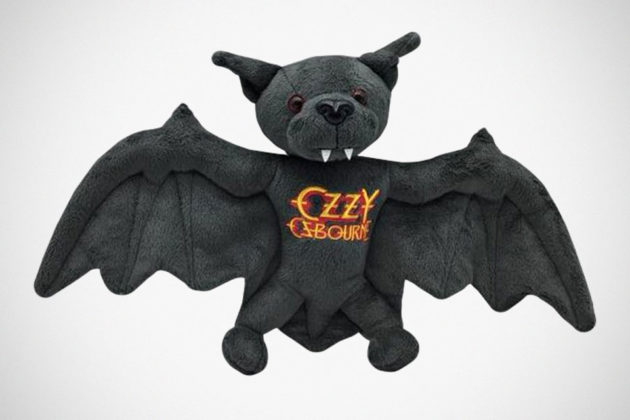 Ozzy Osbourne Detachable Head Plush Bat
