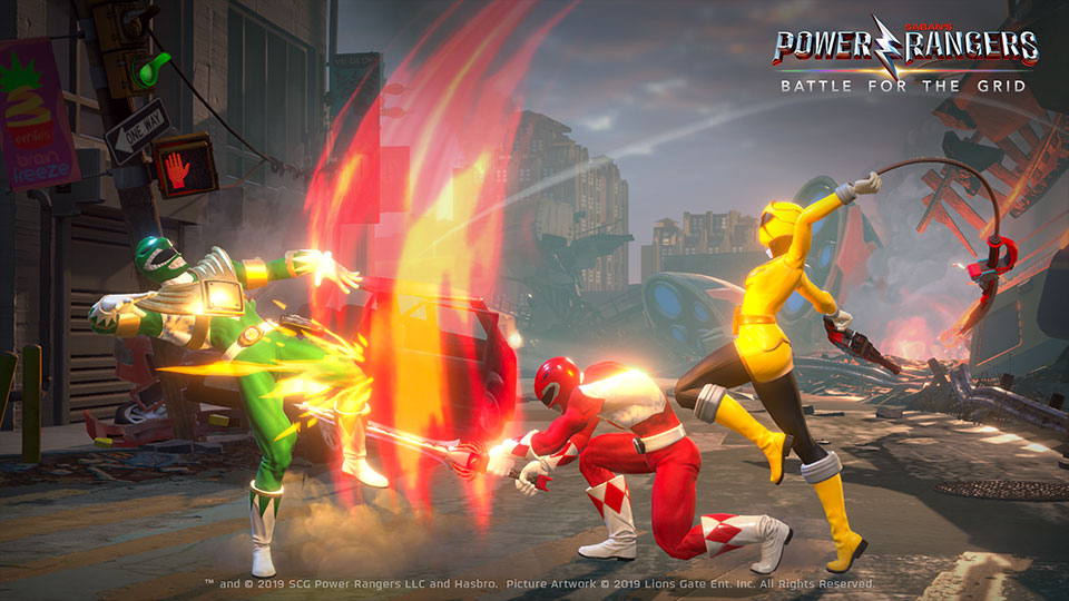 Power Rangers: Battle for the Grid Video Game