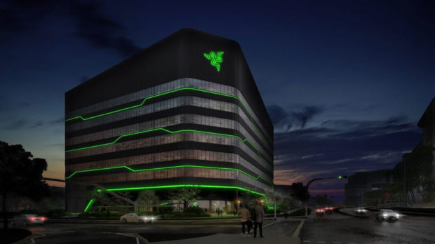 Razer Headquarter at one-north Singapore