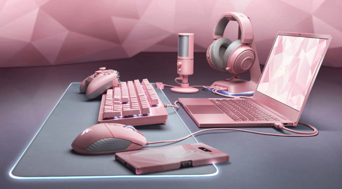Razer Laptop And Peripherals Gets Quartz Pink Treatment For V Day