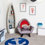 The Great Grey Shark Chair Is No <em>Baby Shark</em>, But Cool Nevertheless