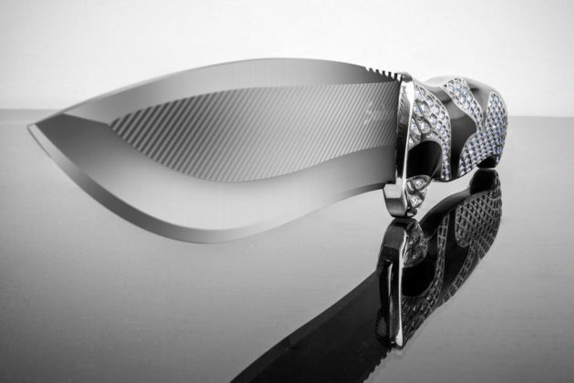 Sandrin Knives Platinum Mamba Knife