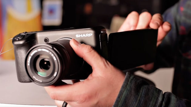 Sharp 8K Camera Revealed At CES 2019