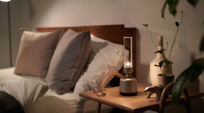 That's Not A Bong, It Is Sony's New Candlelight Lamp Bluetooth Speaker