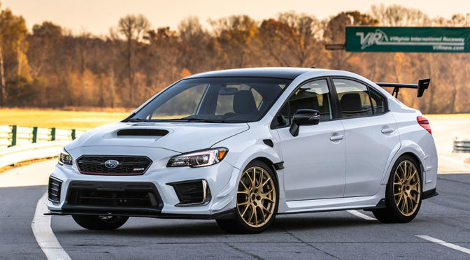 Here's The 341HP Subaru STI S209 That Will Be Selling In The U.S. In 2019