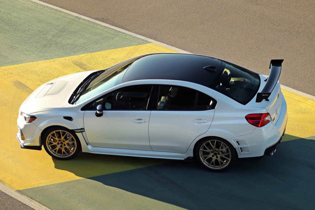 Subaru Limited Edition STI S209 NAIAS