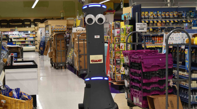 These Robots At A Supermarket Chain Are Different, They Have Googly Eyes