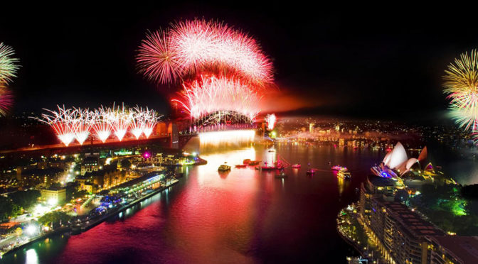 Sydney Gets The Year Wrong This New Year