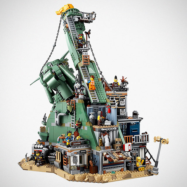 the lego movie 2 apocalypseburg is an epic 3 000 piece. Black Bedroom Furniture Sets. Home Design Ideas