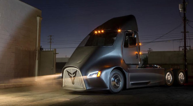 Thor ET-One Electric Semi Truck