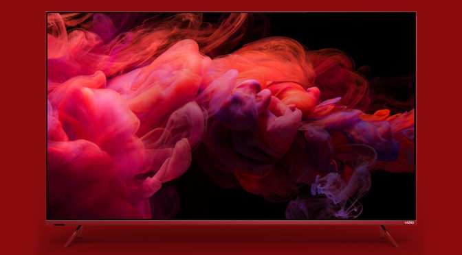Vizio Joins RED Program With A Sexy Red P-Series 4K Smart TV