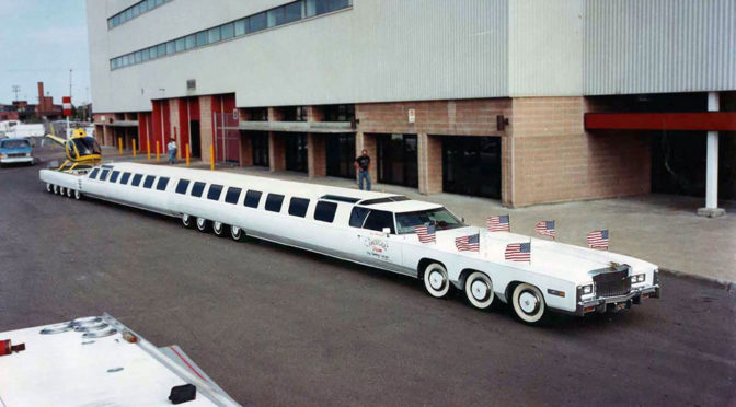 World's Longest Stretched Limousine