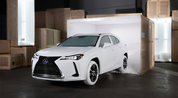 2019 Lexus x John Elliott Sole of UX