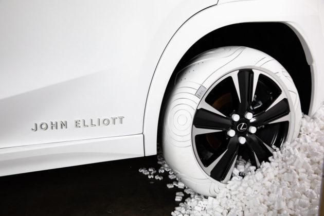 2019 Lexus x John Elliott Sole of UX