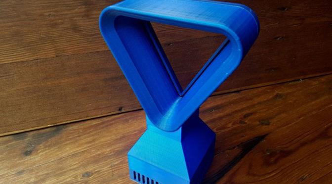 3D Printed Triangular Bladeless Fan