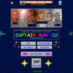 <em>Captain Marvel</em> Is Set In The 90s And So, It Is Only Right It Has Got A 90s Website