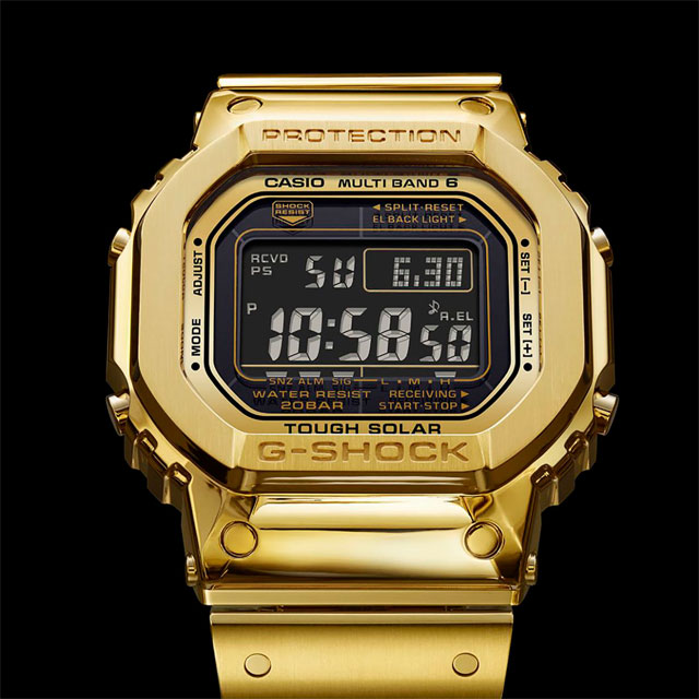 Casio G-Shock 'Pure Gold' Watch