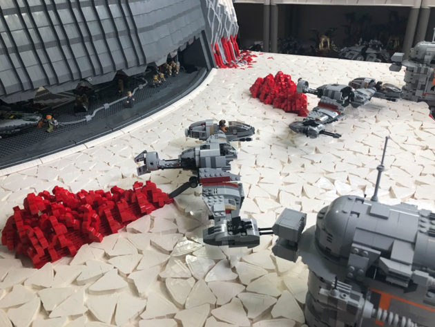 Custom LEGO The Last Jedi Final Battle
