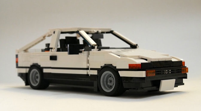 Folks, Lets Make This Awesome LEGO MOC Toyota AE86 Happen!