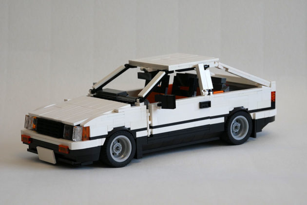 Custom LEGO Toyota AE86 on LEGO Ideas