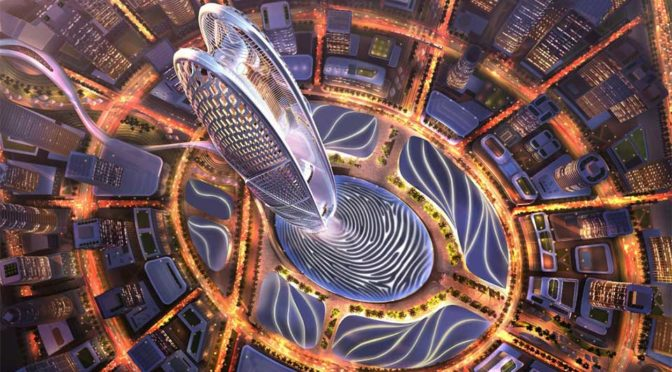 Upcoming Skyscraper In Dubai Will Stick Out Of the Ruler's Fingerprint