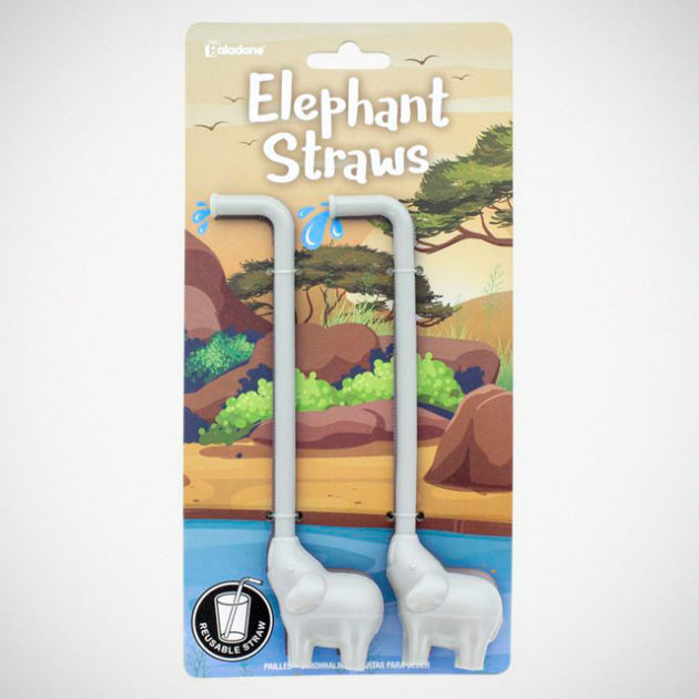 Elephant Straws from Paladone