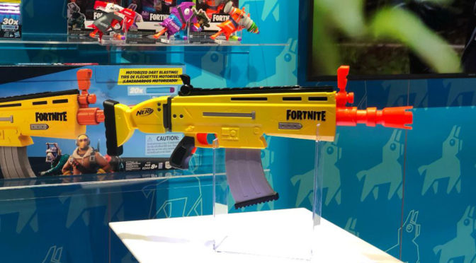 Fornite NERF Blasters and Super Soakers
