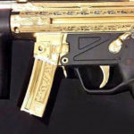 Pakistan Gifts Saudi Crown Prince Gold-plated H&K Submachine Gun