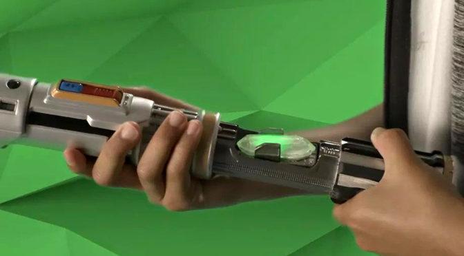 Hasbro's New <em>Star Wars</em> Lightsaber Includes Training As A Jedi
