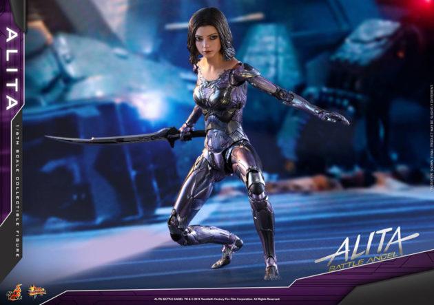 Hot Toys Alita Battle Angel Action Figure