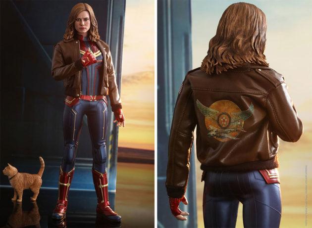 Hot Toys Captain Marvel Action Figure