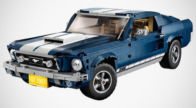 LEGO Creator Ford Mustang Makes Us Think Technic May Not Be For Cars