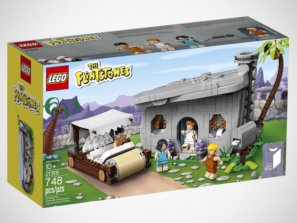 LEGO Ideas 21316 The Flintstones Set