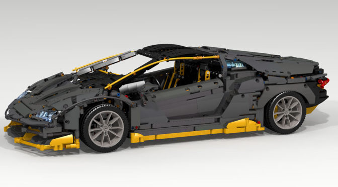 LEGO MOC Lamborghini Centenario