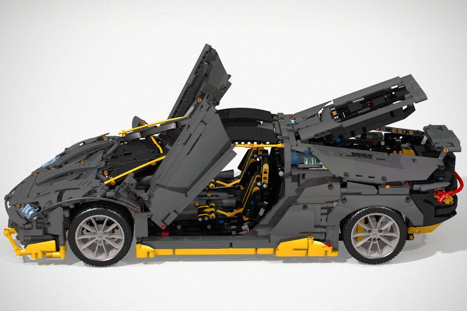 Should This Lego Moc Lamborghini Centenario Be An Official Lego Set