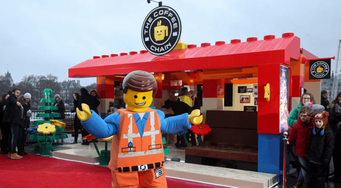 LEGO Built An Actual Coffee Shop With LEGO Bricks In London